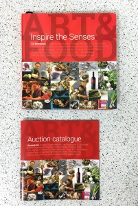 Inspire the Senses, book and auction catalogue covers