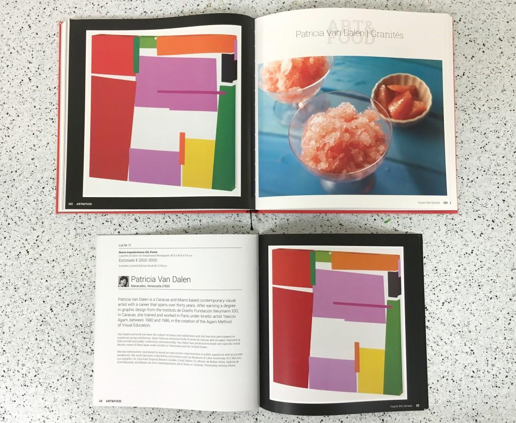 """My artwork """"Postre"""", and Eli's Granités recipe"""