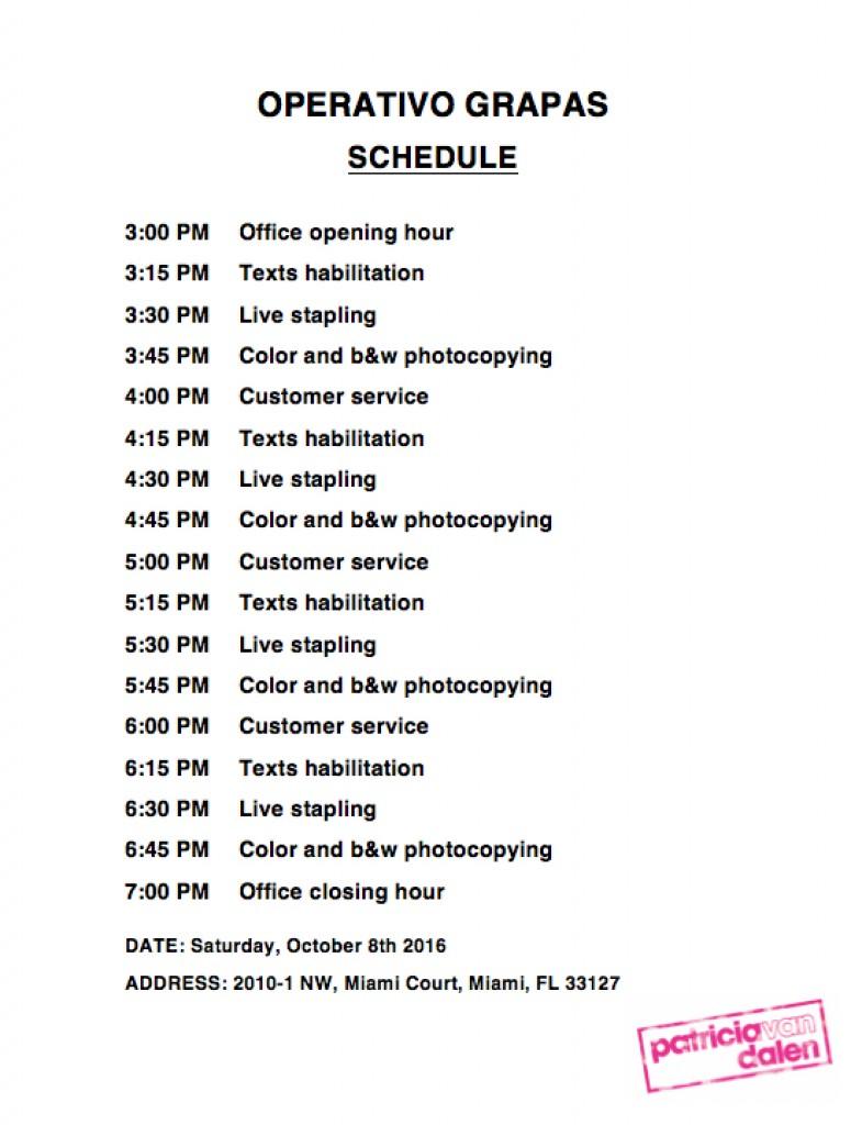 operativo-schedule