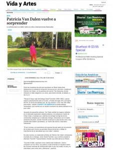 Natural Intersections, Diario Las Americas