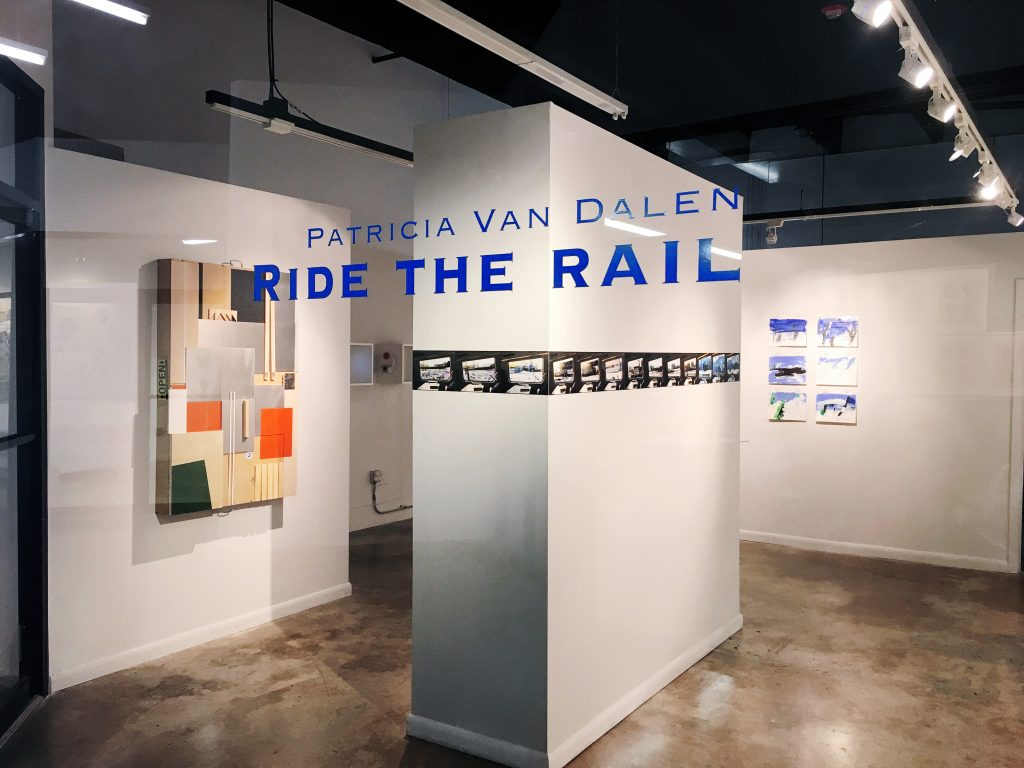 Ride the rail, Artmedia Gallery, 2017