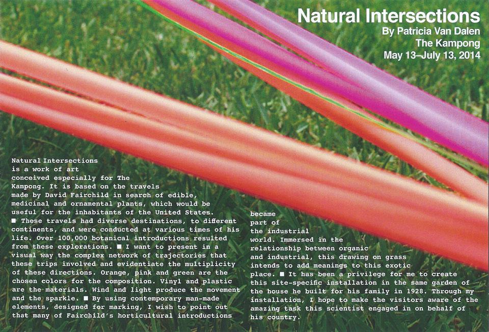 Natural Intersections Invitación
