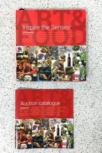 Inspira los Sentidos, portadas de libro y catálogo