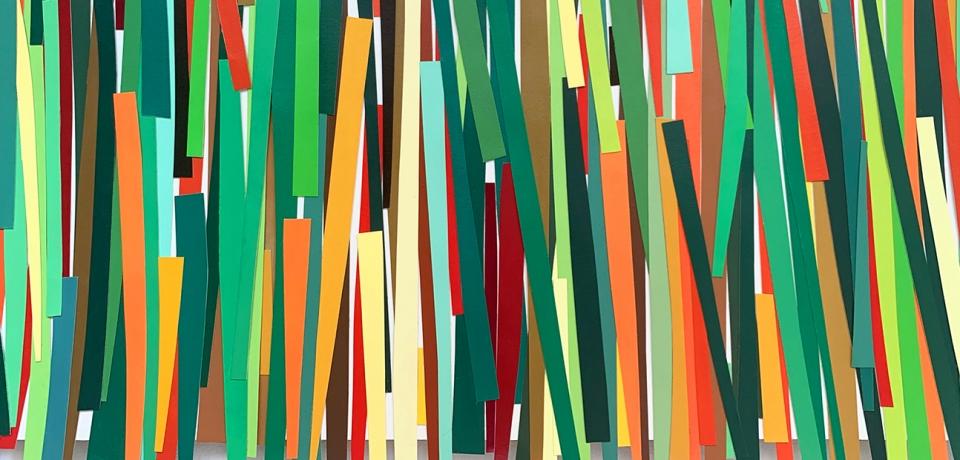 Patricia Van Dalen, Grasses, 2020